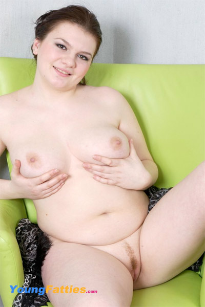 Young chubby wet pussy